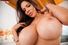 Linsey Dawn McKenzie Huge Tits Blue Bra and Panties 13