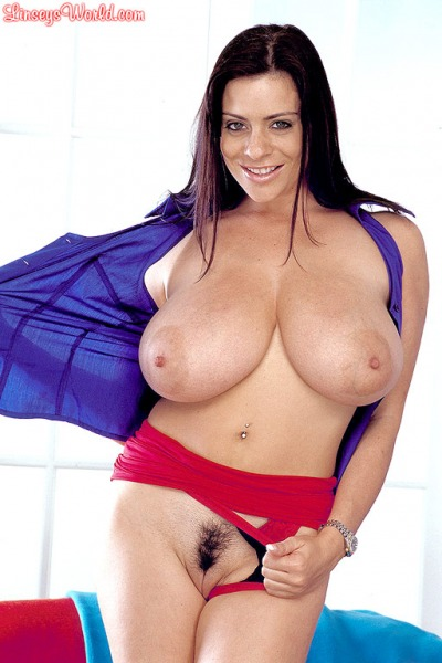 Linsey-Dawn-McKenzie-Huge-Tits-in-Tight-Blue-Top-and-Red-Miniskirt-009