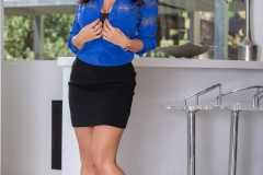 Lisa-Ann-Big-Tits-in-Sexy-Blue-Blouse-1001