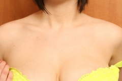 Louisa May Big Tits Yellow Bra and Banana 010
