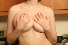 Louisa May Big Tits Yellow Bra and Banana 015