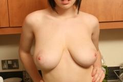 Louisa May Big Tits Yellow Bra and Banana 018