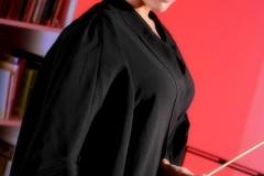 Lucy Pinder Big Boob Teacher in Black Bra 03