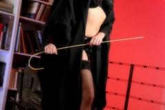 Lucy Pinder Big Boob Teacher in Black Bra 04