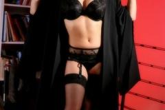 Lucy Pinder Big Boob Teacher in Black Bra 07