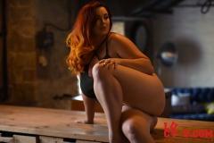 Lucy V Big Boobs in Black Body 005