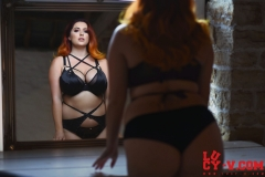 Lucy V Big Boobs in the Mirror 001
