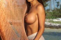 Malisia Petropoulos Naked Big Boob Island Girl 02