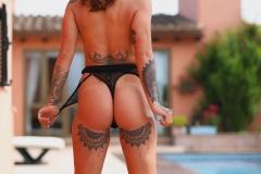 Mica Martinez Big Boobs Get Hot in the Sunshine 010
