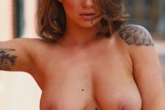 Mica Martinez Big Boobs Get Hot in the Sunshine 016