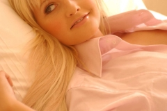 Michelle Marsh Big Tits Pink Shirt 01