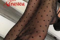 Miss Adrastea Big Boobs and Polka Dot Stockings 006