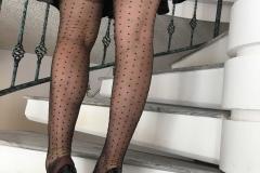 Miss Adrastea Big Boobs and Polka Dot Stockings 010