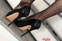Miss Adrastea Big Boobs and Polka Dot Stockings 011