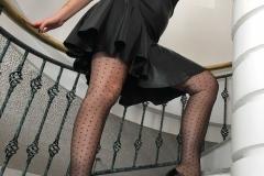 Miss Adrastea Big Boobs and Polka Dot Stockings 012