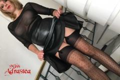 Miss Adrastea Big Boobs and Polka Dot Stockings 014