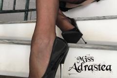 Miss Adrastea Big Boobs Black Stockings and High Heels 010