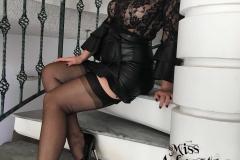 Miss Adrastea Big Boobs Black Stockings and High Heels 011