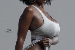 Mona Venus Huge Boobs on Display 011