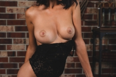 Nadine Big Tits in Sparkly Black  for Photodromm 002