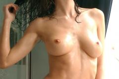 Nikkala Stott Big Tit Red Towl ar Showertime 009