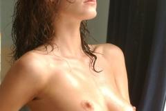 Nikkala Stott Big Tit Red Towl ar Showertime 012