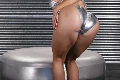 Nikki Delano Big Tits Silver Bikini 002