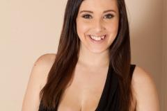 Noelle Easton Big Tits Black Dress 01