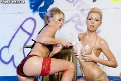 Paige Ashley Christine Love and Jamie Brooks in Big Tit Lesbian Party 006