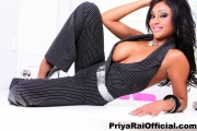 Priya Rai Huge Tits Bursting out from a Waistcoat 006