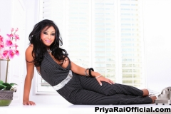 Priya Rai Huge Tits Bursting out from a Waistcoat 004