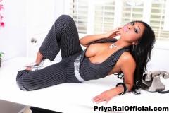 Priya Rai Huge Tits Bursting out from a Waistcoat 007