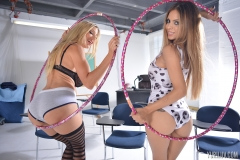 Puma Swede and Yuri Avluv Big Boobs Hula Hoop Girls 003