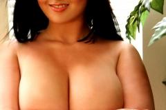 Rachel Aldana Huge Boobs Black Bra 013