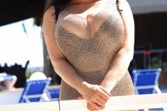 Rachel-Aldana-Huge-Tits-in-Gold-Mesh-Dress-001