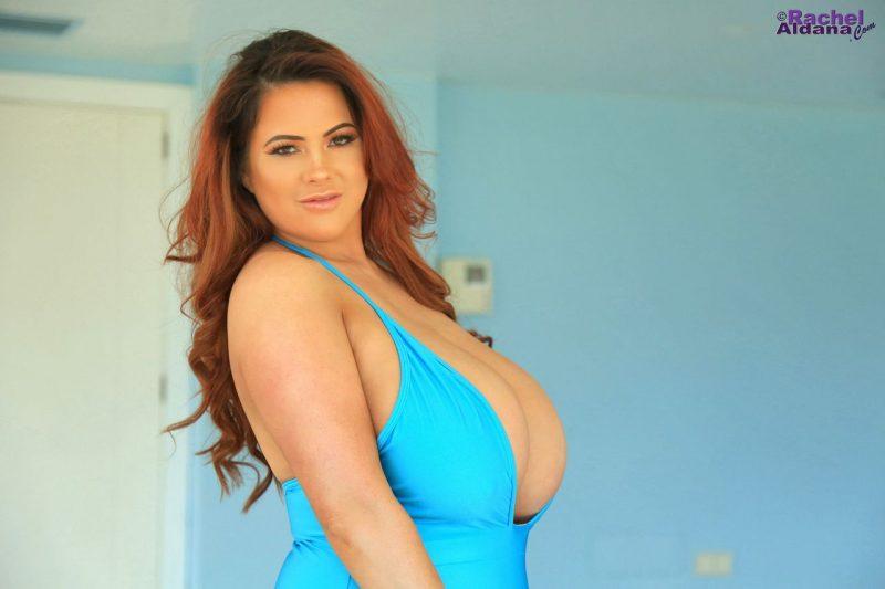 Rachel-Aldana-Huge-Tits-in-Light-Blue-Swimsuit-006