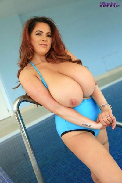 Rachel-Aldana-Huge-Tits-in-Light-Blue-Swimsuit-013