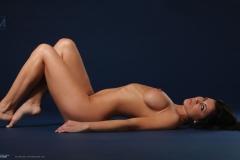 Rachelle Wilde Big Boobs Naked on a Stool 011