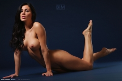 Rachelle Wilde Big Boobs Naked on a Stool 014