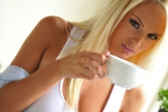 Rhian Sugden Big Boob Breakfast 01