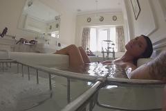 Romi Rain Big Boob Bathtime Selfies 014