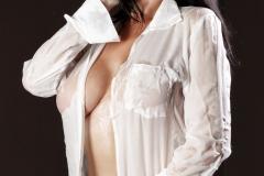 Romi Rain Big Boobs in Seethrough White Shirt 007