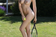 Rosie Danvers Big Boob Naked  Tennis Player 011