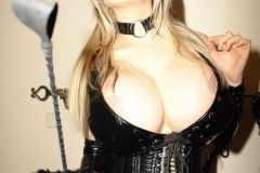 Sabrina Sabrok Huge Tits Leather Mistress 007