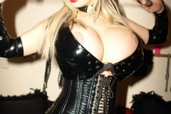 Sabrina Sabrok Huge Tits Leather Mistress 009