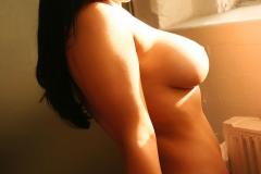 Samantha Buxton Big Tits White Shirt 15