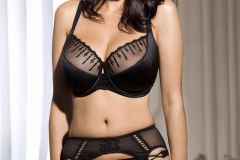 Sammy Braddy Big Breasts Black Stockings 08