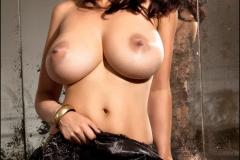 Sammy Braddy Big Breasts Black Stockings 10