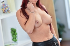 Sarah Bi Big Boobs and Tight Black Miniskirt for FTV Milfs 007