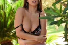 Sarah McDonald Big Boobs and Sexy Pink Skirt 008